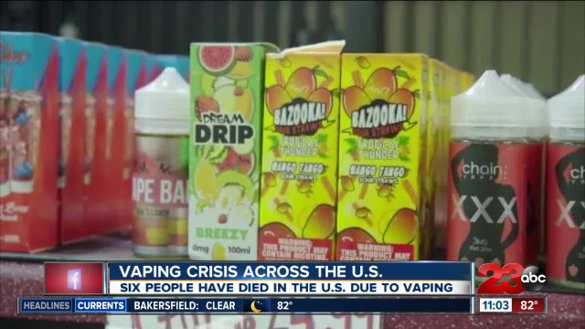Vaping Crisis Across the U.S.