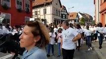 Marche blanche pour Maël à Schiltigheim
