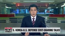 S. Korea, U.S. to start defense cost-sharing negotiations soon