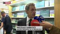 Nicolas Sarkozy réagit suite à l'incarcération de Patrick Balkany à la prison de la Santé à Paris