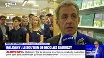 """Nicolas Sarkozy: """"J'ai de la peine"""" pour Patrick Balkany, """"ce n'est pas quand les gens sont dans la difficulté qu'il faut les abandonner"""""""