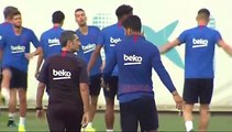 """Valverde: """"No he querido leer la entrevista a Messi"""""""