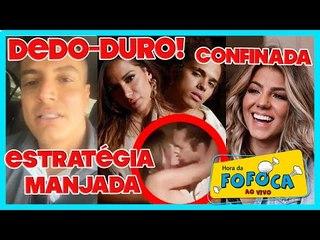 Anitta vaza beijo p/ abafar Scooby + Leo Dias vira dedo-duro no SBT + Hariany confinada na Fazenda