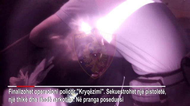 Kapet me pistoletë në makinë, policinë e lajmëruan banorët