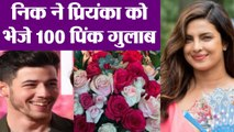 Priyanka Chopra gets 100 roses from Nick Jonas for Sky Is Pink | FilmiBeat