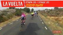 Craddock rejoint l'échappée / Craddock joins the breakaway - Étape 20 / Stage 20 | La Vuelta 19