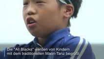 Kinder-Haka für die All Blacks in Japan