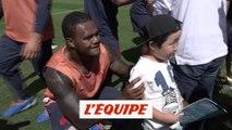 L'équipe de France à la rencontre du public japonais - Rugby - Bleus