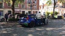 Lisieux. Le rallye emballe le centre-ville