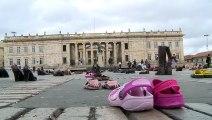 أحذية مهاجرين للتصدّي لتنامي كره الأجانب في كولومبيا