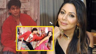 Shahrukh Khan's wife Gauri Khan makes big revelation on Bazigar song Ye Kali Kali Aankhen look