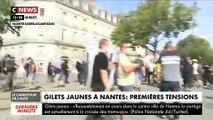 Gilets Jaunes : Regardez les images des incidents de cet après-midi à Nantes