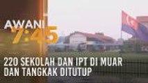 220 sekolah dan IPT di Muar dan Tangkak ditutup