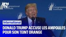Donald Trump accuse les ampoules basse consommation de lui donner le teint orange