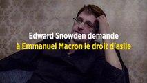 Edward Snowden demande à Emmanuel Macron le droit d'asile