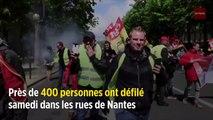 Gilets jaunes : 400 manifestants et 18 interpellations à Nantes