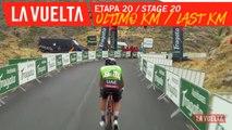 Ultimo kilómetro / Last kilometer - Étape 20 / Stage 20 | La Vuelta 19