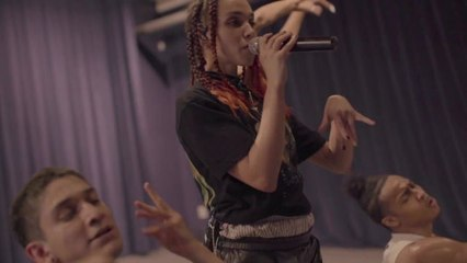 Watch FKA Twigs Prepare for Her Otherworldly Afropunk Performance With Swordplay, Pole Dancing, and Much More