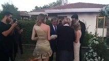 11.Cumhurbaşkanı Abdullah Gül, eski AKP Milletvekili Mehmet Faruk Bayrak'ın kızının nişanına katıldı