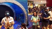 Khu vực Tai Koo Shing ( Thái Cổ Thành ), Hong Kong ~22h ngày 14 09 2019 (GMT+8)  Dàn nhạc mini và hàng trăm người đồng thanh hát bài quốc ca Vinh quang Hong Kong 願榮光歸香港 Glory be to thee, Hong Kong ( Nhạc đấu tranh của phong trào dân chủ Hong Kong ) - Uy