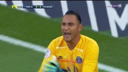 PSG 0-0 Strasbourg: SAVE - Navas