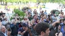 Levallois: rassemblement de soutien à Patrick Balkany