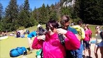 Lac d'Annecy : premier vol en parapente à 80 ans pour Yolande