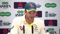 Tim Payne post day 3 5th Ashes Test