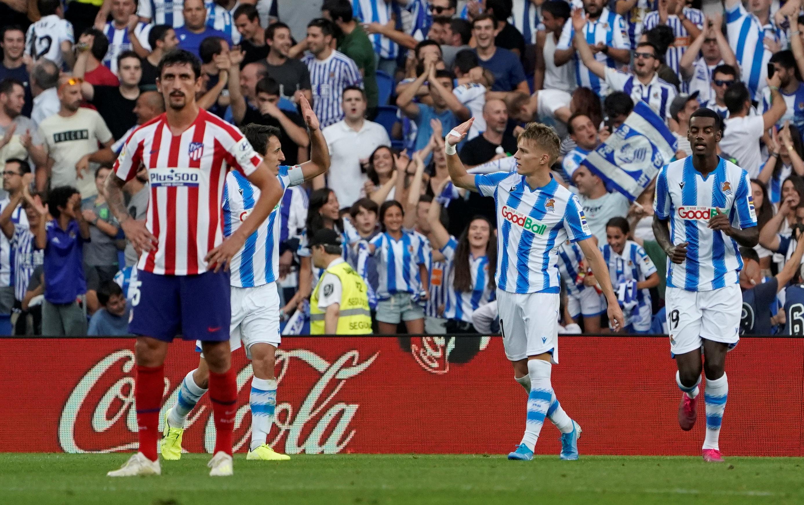 Liga : La Sociedad fait tomber l'Atletico !