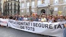 Un 'tsunami vecinal' recorre las calles de Barcelona para denunciar la inseguridad