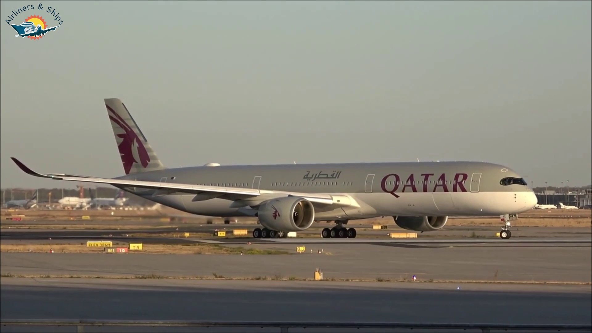 Airbus A350-1000 Qatar Airways Planespotting Frankfurt Airport 2018
