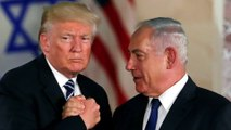 Trump floats possible defense treaty with Israel