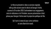 Le Président - Documentaire (14/09/2019)