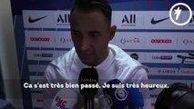 Keylor Navas revient sur sa première et parle du Real Madrid