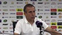 Gazişehir Gaziantep - Beşiktaş maçın ardından - Beşiktaş Teknik Direktörü Abdullah Avcı