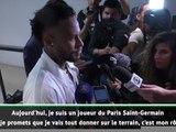"""5e j. - Neymar : """"Je voulais partir, mais je vais tout donner pour le PSG"""""""
