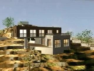 Projet d'Architecture contemporaine à St Lucie de Tallano