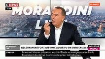 """Nelson Monfort raconte dans """"Morandini Live"""" le jour où il a vu un OVNI dans le ciel des Alpes - VIDEO"""