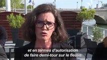 """SeaBubbles: nouveaux tests des """"taxis volants"""" sur la Seine"""