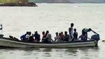 Chavirement à l'île de la Madeleine - Arrivée des premiers rescapés