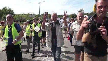 Manifestation anti-UNITECH - 14 septembre JOINVILLE - séquence pour comptage