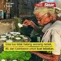 Nenek jual makanan murah demi pelanggan kurang mampu