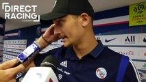 """Ludovic Ajorque : """"Je peux y réfléchir toute la nuit, je ne vais pas marquer"""""""