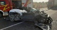Son dakika: Ankara'da feci kaza: 3 ölü, 3 yaralı