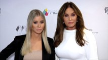 Sophia Hutchins and Caitlyn Jenner 2019 Face Forward 'Highlands to the Hills' Gala Red Carpet