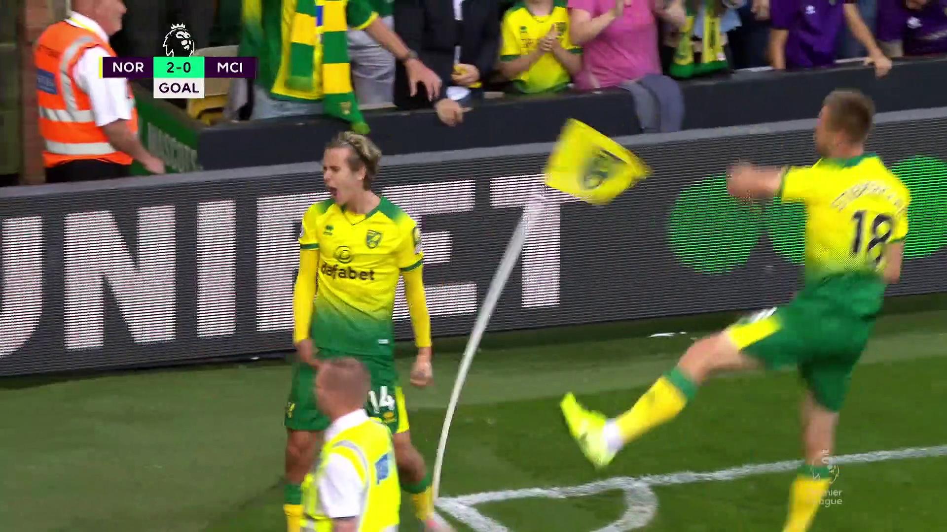 5.hafta / Norwich - Manchester City: 3-2 (Özet)