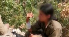 Mehmetçik, ele geçirdiği teröriste ilk yardım müdahalesinde bulundu