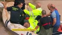 Espagne : des inondations meurtrières touchent le pays