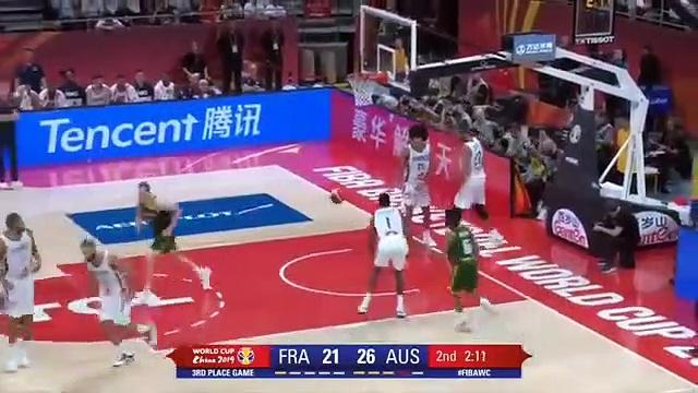 FRANCE vs AUSTRALIA  third place FIBA WORLD CUP 2019