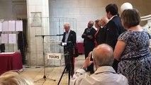 VIDEO.  La glaçante litanie des noms des 1019 déportés d'Indre-et-Loire